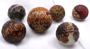 South Dakota Trade Beads - Ball beads