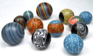 Oregon Trade Beads - Ball beads